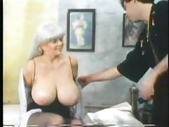 Retro foreplay porn with huge tits chick tubes
