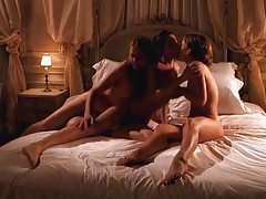 Erotic lesbian threesome filmed by a guy tubes