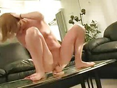 Sexy squirter feverishly rides her big toy tubes