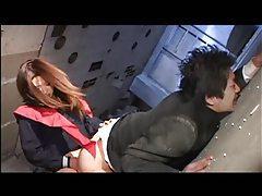 Japanese schoolgirl dominates him harshly tubes