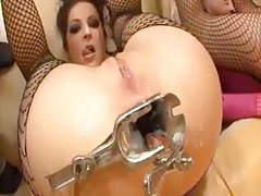 Cum inside assholes then girl eats the creampie tubes