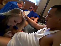 Girls in graduation gowns sucking cock tubes