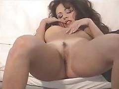 The glam gal has big fake tits tubes