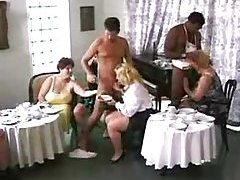 Fat girls fucking in an awesome orgy tubes