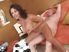 Old dude fucks a soccer mom hard tubes