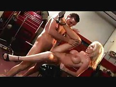 Nikki Benz fucked in the ass by big dick tubes