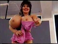 Her breasts go way beyond big and beautiful tubes
