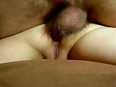 She rubs her clit and then he fucks her pussy tubes