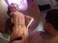 Briana Banks bounces on a big cock tubes