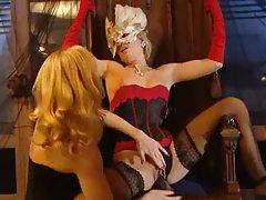 Lesbian lingerie girls have super hot sex tubes