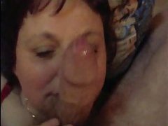 Old brunette likes his young cock tubes