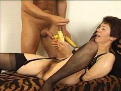 Stiff meat fucking the old brunette babe tubes