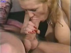 Lusty BJ and fuck with chubby slut tubes