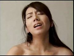 Horny lover fucks Japanese wife deep tubes