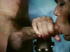 Threesome with strapon and big cock tubes