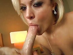 Jasmine Jolie is great at sucking big cock tubes