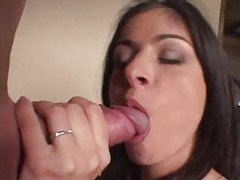 Beautiful young lady takes two cocks in holes tubes