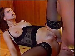 Incredible lingerie on this horny fuck slut tubes
