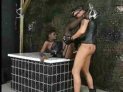 Deepthroating black chick and hardcore fuck tubes
