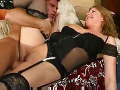 Mom and her cock cravings get her fucked tubes