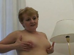 Chubby mom hole filled by hard dick tubes