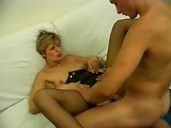 Big cock fucking her pussy and her asshole tubes