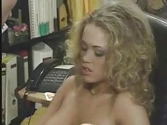 In his office he bones a very hot blonde girl tubes