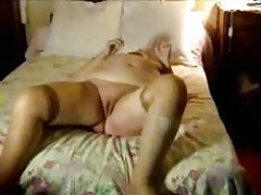 Fat old bitch giving a BJ tubes
