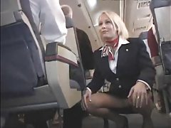 Hardcore sex on a plane tubes