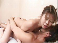 Asian in white panties fucked tubes