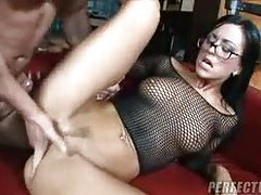 A slow ass fuck turns into furious thrusting tubes