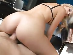Slow and hot anal sex in POV tubes