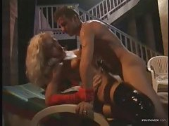 Hot Euro group sex with a double penetration tubes
