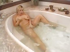 Bathroom fucking with a wet busty babe tubes