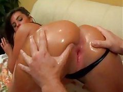 Her ass is wet and gets good anal sex tubes