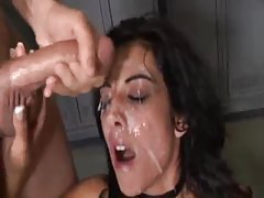 Big loads hit the face of this slut tubes