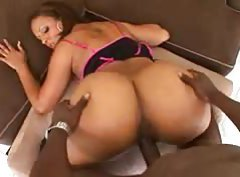 She has a huge ass and rides her man tubes