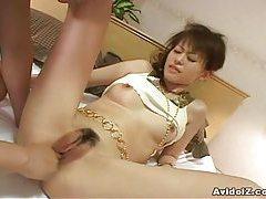 Cute Japanese petite babe blowjob and hardcore sex! tubes