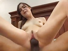 Sasha Grey and the monster black cock going at it tube