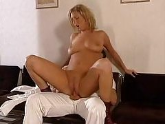 Nice curves on a girl fucking the house painter tubes
