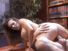 Office hardcore sex with a busty brunette beauty tubes