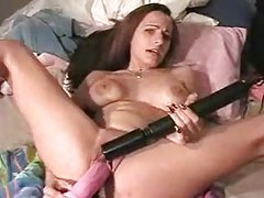 Amateur squrits as she toys her vagina tubes