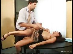 Hairy cunt girl in heels fucked in the ass tubes
