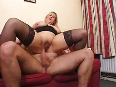 Fat milf in heels and stockings fucked tubes