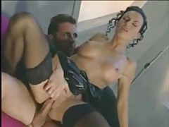 Gal looks smoking hot during an anal fuck tubes