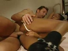 Fuck and a dreamy lesbian threesome scene tubes