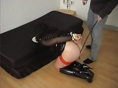 Amateur sex slave disciplined and gang banged tubes