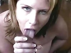Wicked busty girl sucks on a hard dick tubes