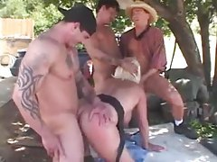 Chubby mature hardcore gangbang outdoors tubes