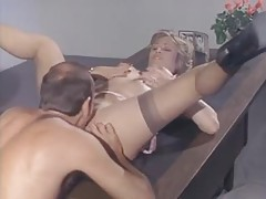Classic secretary fuck with Marilyn Chambers tubes